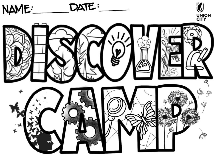 Discover Coloring Page
