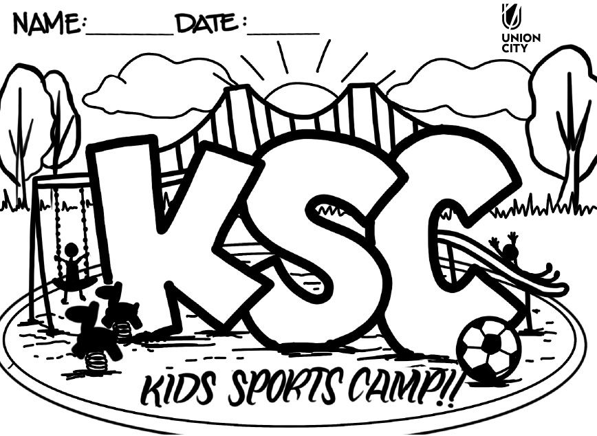 kids Sports Coloring Page