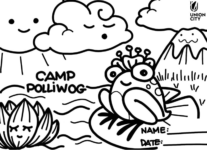 Polliwog Coloring Page